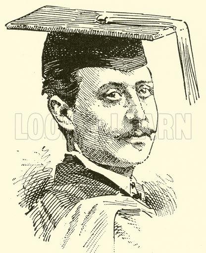 Horton Claridge Allison. Illustration for Cyclopedia of Music and Musicians edited by John Denison Champlin (Charles Scribner, 1889).