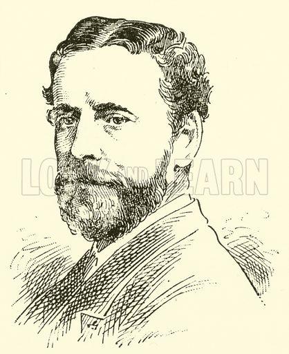 Thomas Anderton. Illustration for Cyclopedia of Music and Musicians edited by John Denison Champlin (Charles Scribner, 1889).