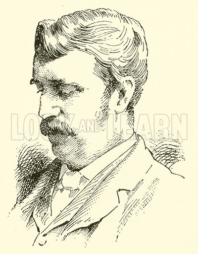 John Morgan Bently. Illustration for Cyclopedia of Music and Musicians edited by John Denison Champlin (Charles Scribner, 1889).