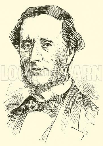 Sir William Sterndale Bennett, 1816–1875. Illustration for Cyclopedia of Music and Musicians edited by John Denison Champlin (Charles Scribner, 1889).