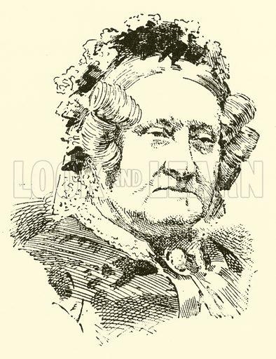 Ann Sheppard Mounsey Bartholomew. Illustration for Cyclopedia of Music and Musicians edited by John Denison Champlin (Charles Scribner, 1889).