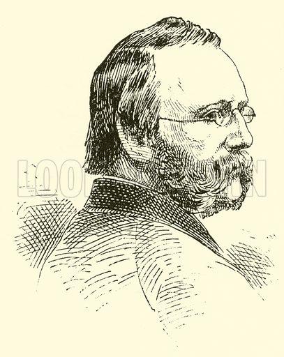 Joseph Barnby. Illustration for Cyclopedia of Music and Musicians edited by John Denison Champlin (Charles Scribner, 1889).