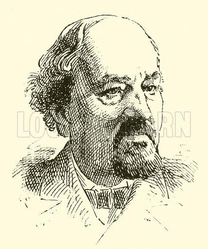 John Barnett. Illustration for Cyclopedia of Music and Musicians edited by John Denison Champlin (Charles Scribner, 1889).