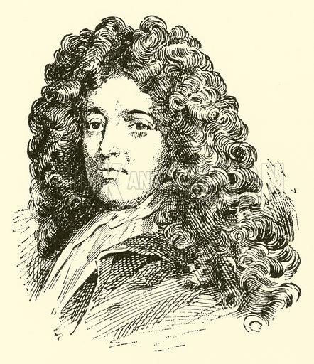 John Banister, 1630–1679. Illustration for Cyclopedia of Music and Musicians edited by John Denison Champlin (Charles Scribner, 1889).