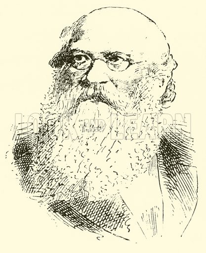 Karl Banck. Illustration for Cyclopedia of Music and Musicians edited by John Denison Champlin (Charles Scribner, 1889).