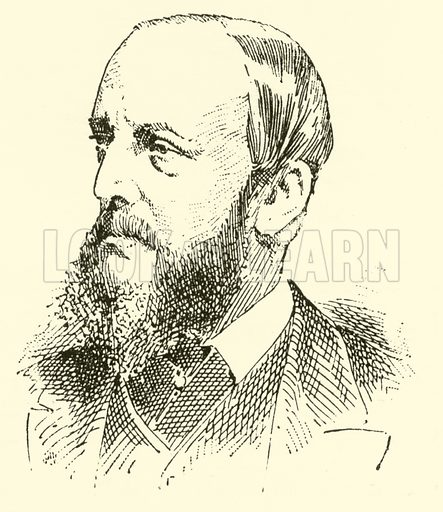 Henry Charles Banister. Illustration for Cyclopedia of Music and Musicians edited by John Denison Champlin (Charles Scribner, 1889).
