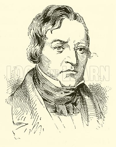 Pierre Marie Francois de Sales Baillot, 1771–1842. Illustration for Cyclopedia of Music and Musicians edited by John Denison Champlin (Charles Scribner, 1889).