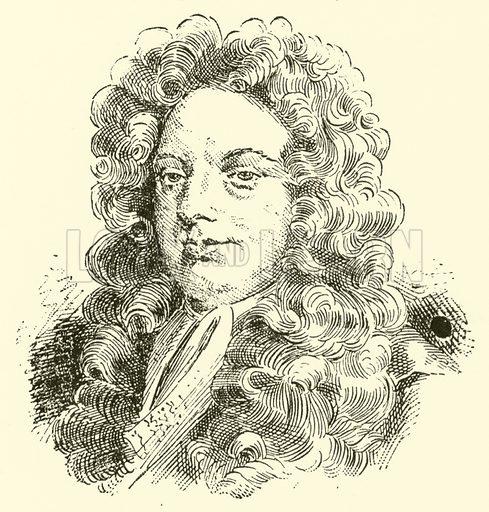 John Blow, 1648–1708. Illustration for Cyclopedia of Music and Musicians edited by John Denison Champlin (Charles Scribner, 1889).