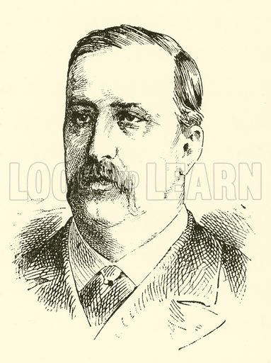 Alexander Borodin, 1834–1887. Illustration for Cyclopedia of Music and Musicians edited by John Denison Champlin (Charles Scribner, 1889).