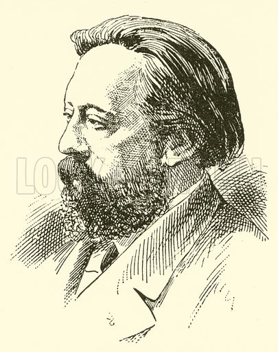 Louis Brassin, 1840–1884. Illustration for Cyclopedia of Music and Musicians edited by John Denison Champlin (Charles Scribner, 1889).