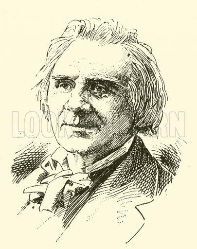 Ole (Bornemann) Bull, 1810–1880. Illustration for Cyclopedia of Music and Musicians edited by John Denison Champlin (Charles Scribner, 1889).