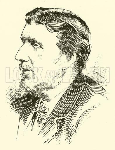 Edward Bunnett. Illustration for Cyclopedia of Music and Musicians edited by John Denison Champlin (Charles Scribner, 1889).