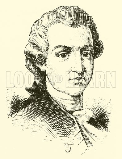 Pasquale Cafaro (Caffaro), called Caffarelli, 1708–1787. Illustration for Cyclopedia of Music and Musicians edited by John Denison Champlin (Charles Scribner, 1889).