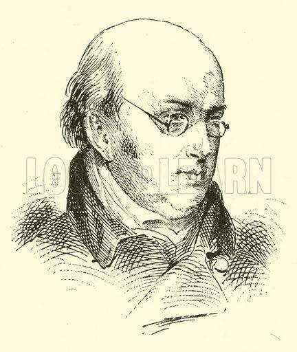 John Wall Callcott, 1766–1821. Illustration for Cyclopedia of Music and Musicians edited by John Denison Champlin (Charles Scribner, 1889).