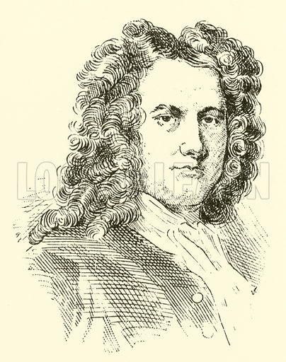 Henry Carey, 1685–1743. Illustration for Cyclopedia of Music and Musicians edited by John Denison Champlin (Charles Scribner, 1889).