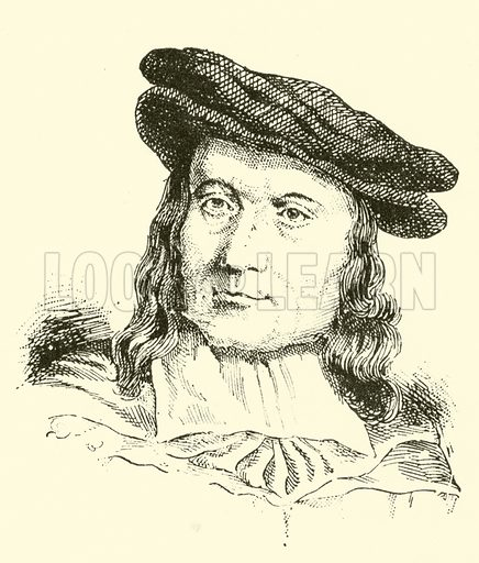William Child, 1606–1697. Illustration for Cyclopedia of Music and Musicians edited by John Denison Champlin (Charles Scribner, 1889).