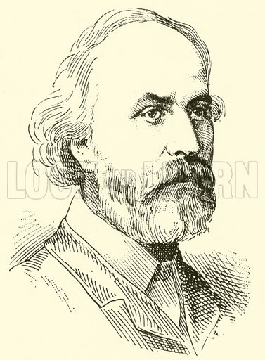 Edmund Thomas Chipp, 1823–1886. Illustration for Cyclopedia of Music and Musicians edited by John Denison Champlin (Charles Scribner, 1889).