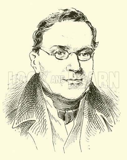 Carl Czerny (Cerny), 1791–1857. Illustration for Cyclopedia of Music and Musicians edited by John Denison Champlin (Charles Scribner, 1889).
