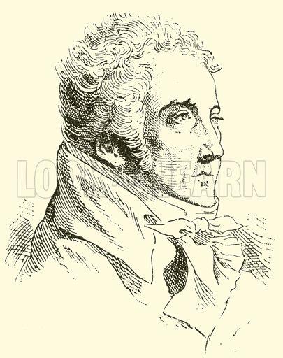 Nicolas Dalayrac (properly d'Alayrac), 1753–1809. Illustration for Cyclopedia of Music and Musicians edited by John Denison Champlin (Charles Scribner, 1889).