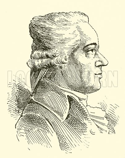 Karl Ditters von Dittersdorf, 1739–1799. Illustration for Cyclopedia of Music and Musicians edited by John Denison Champlin (Charles Scribner, 1889).