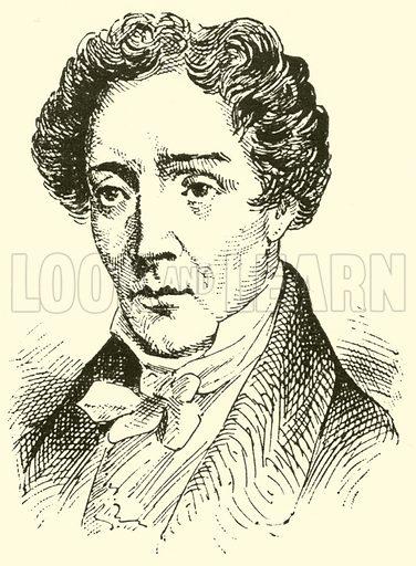 Friedrich Ernst Fesca, 1789–1826. Illustration for Cyclopedia of Music and Musicians edited by John Denison Champlin (Charles Scribner, 1889).
