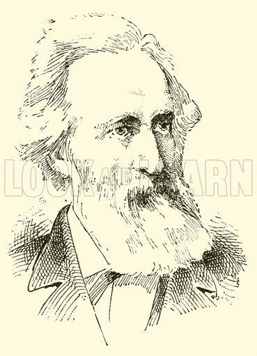 Friedrich Freiher von Flotow, 1812–1883. Illustration for Cyclopedia of Music and Musicians edited by John Denison Champlin (Charles Scribner, 1889).