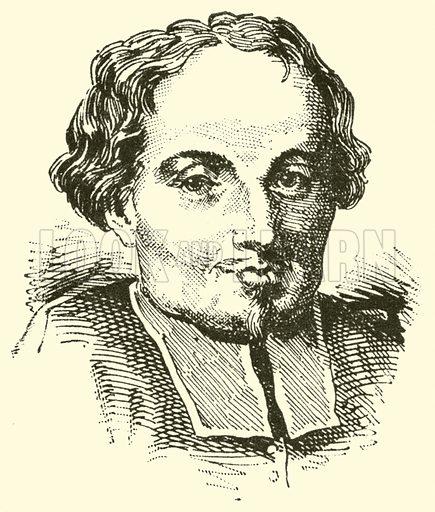 Francesco Foggia, 1604–1688. Illustration for Cyclopedia of Music and Musicians edited by John Denison Champlin (Charles Scribner, 1889).