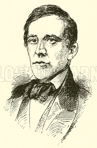Stephen Collins Foster, 1826–1864. Illustration for Cyclopedia of Music and Musicians edited by John Denison Champlin (Charles Scribner, 1889).