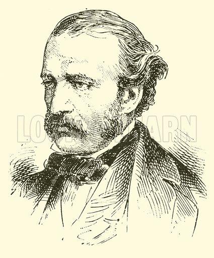 Albert Grisar, 1808–1869. Illustration for Cyclopedia of Music and Musicians edited by John Denison Champlin (Charles Scribner, 1889).