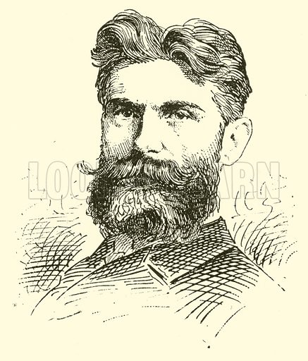 Reinhold Ludwig Herman. Illustration for Cyclopedia of Music and Musicians edited by John Denison Champlin (Charles Scribner, 1889).