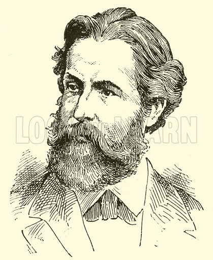 Heinrich (Karl Johann) Hofmann. Illustration for Cyclopedia of Music and Musicians edited by John Denison Champlin (Charles Scribner, 1889).