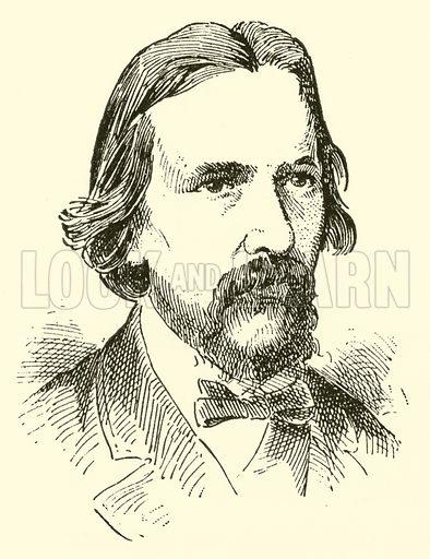 Franz (Friedrich) von Holstein, 1826–1878. Illustration for Cyclopedia of Music and Musicians edited by John Denison Champlin (Charles Scribner, 1889).