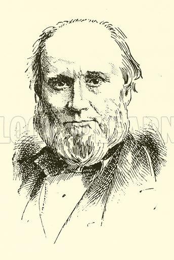 Edward John Hopkins. Illustration for Cyclopedia of Music and Musicians edited by John Denison Champlin (Charles Scribner, 1889).