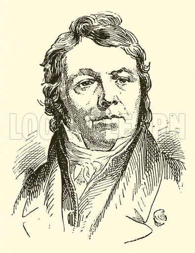 Johann Nepomuk Hummel, 1778–1837. Illustration for Cyclopedia of Music and Musicians edited by John Denison Champlin (Charles Scribner, 1889).