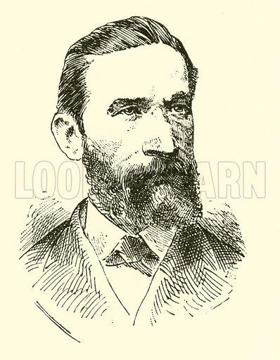 Salomon Jadassohn. Illustration for Cyclopedia of Music and Musicians edited by John Denison Champlin (Charles Scribner, 1889).