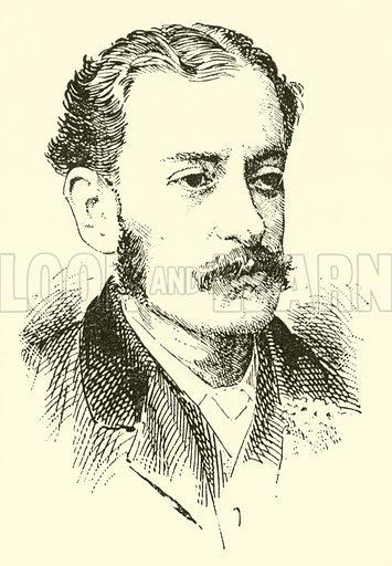 Eduard Jakabowski. Illustration for Cyclopedia of Music and Musicians edited by John Denison Champlin (Charles Scribner, 1889).