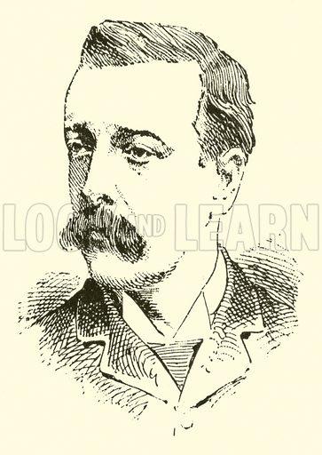 Thomas Richard Gonzalvez Joze. Illustration for Cyclopedia of Music and Musicians edited by John Denison Champlin (Charles Scribner, 1889).