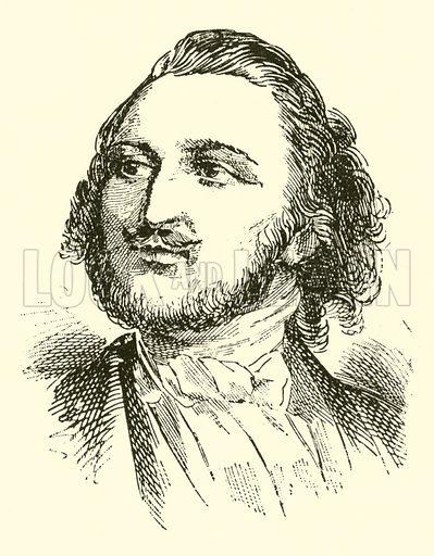 Louis Antoine Julien (Jullien), 1812–1860. Illustration for Cyclopedia of Music and Musicians edited by John Denison Champlin (Charles Scribner, 1889).