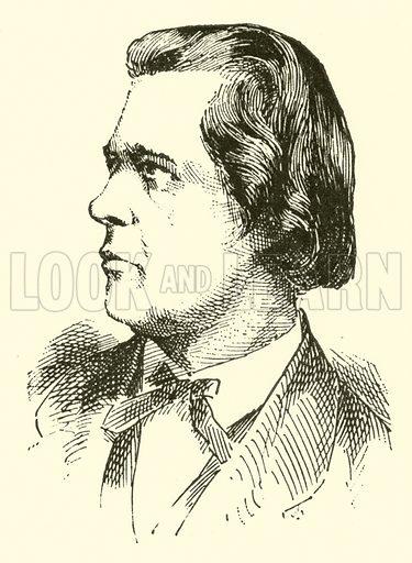 Theodor Kirchner. Illustration for Cyclopedia of Music and Musicians edited by John Denison Champlin (Charles Scribner, 1889).