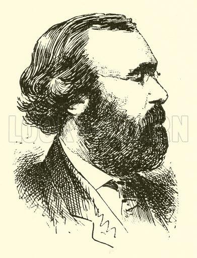 Louis (Heinrich) Kohler, 1820–1886. Illustration for Cyclopedia of Music and Musicians edited by John Denison Champlin (Charles Scribner, 1889).