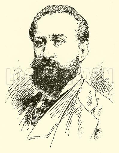 Francis Alexander Korbay. Illustration for Cyclopedia of Music and Musicians edited by John Denison Champlin (Charles Scribner, 1889).