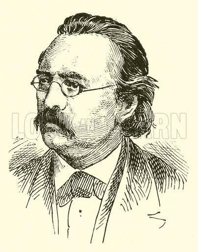 Edmund Kretschmer. Illustration for Cyclopedia of Music and Musicians edited by John Denison Champlin (Charles Scribner, 1889).