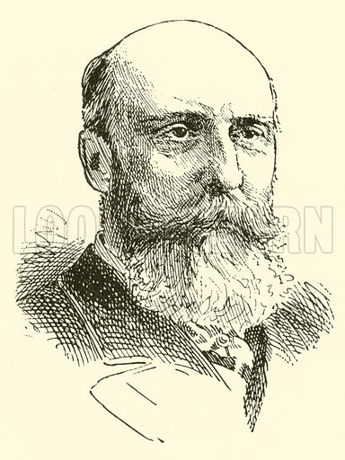 Benjamin Johnson Lang. Illustration for Cyclopedia of Music and Musicians edited by John Denison Champlin (Charles Scribner, 1889).