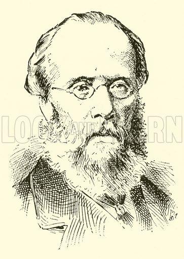Henry (David) Leslie. Illustration for Cyclopedia of Music and Musicians edited by John Denison Champlin (Charles Scribner, 1889).