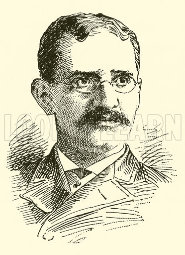 Emil Liebling. Illustration for Cyclopedia of Music and Musicians edited by John Denison Champlin (Charles Scribner, 1889).
