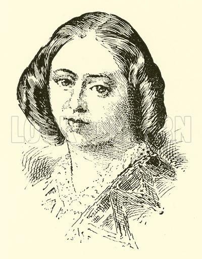 Clara Angela Macirone. Illustration for Cyclopedia of Music and Musicians edited by John Denison Champlin (Charles Scribner, 1889).