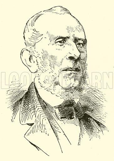 (Giuseppe) Saverio (Raffaele) Mercadante, 1795–1870. Illustration for Cyclopedia of Music and Musicians edited by John Denison Champlin (Charles Scribner, 1889).