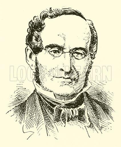 Albert Gottlieb Methfessel. Illustration for Cyclopedia of Music and Musicians edited by John Denison Champlin (Charles Scribner, 1889).