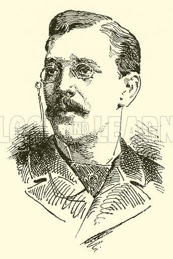 Felix Mottl. Illustration for Cyclopedia of Music and Musicians edited by John Denison Champlin (Charles Scribner, 1889).