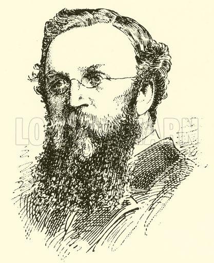 John Naylor. Illustration for Cyclopedia of Music and Musicians edited by John Denison Champlin (Charles Scribner, 1889).
